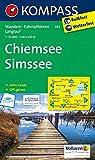 KOMPASS Wanderkarte Chiemsee - Simssee: Wanderkarte mit Aktiv Guide, Radrouten und Loipen. GPS-genau. 1:25000: Wandelkaart 1:25 000 (KOMPASS-Wanderkarten, Band 792)