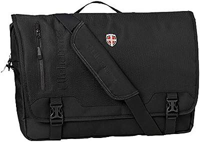 Elle Martillo Laptop Bolsa Messenger Bag Black