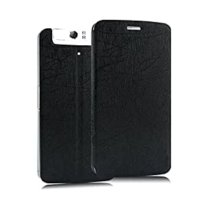 Heartly Premium Luxury PU Leather Flip Stand Back Case Cover For OPPO N1 Mini - Black