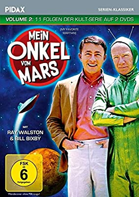 Mein Onkel vom Mars, Vol. 2 / Weitere 11 Folgen der Kult-Serie (Pidax Serien-Klassiker) [2 DVDs]