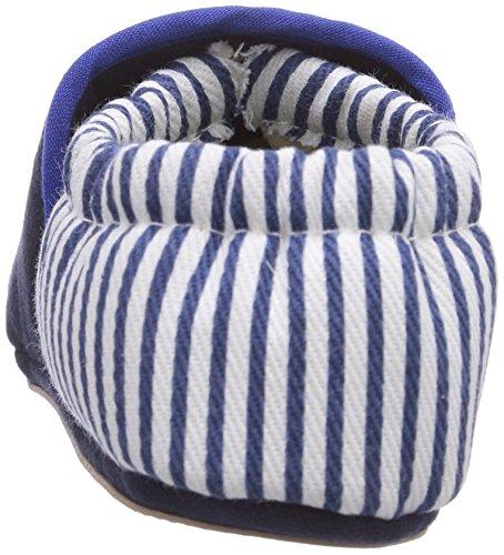 Giesswein Bodensee, Chaussons bébé garçon Bleu (548 Dunkel Blau)