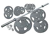 Profi Olympia Hantelset Body-Track® DB320, 145 kg - 50 mm