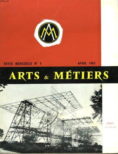 ARTS ET METIERS. REVUE MENSUELLE N°4, A...