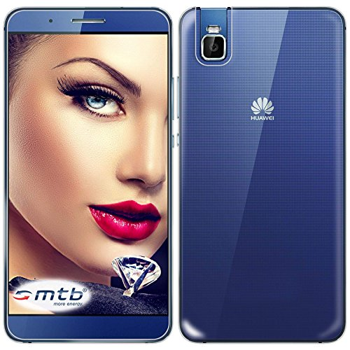 mtb more energy® Funda Clear & Slim para Huawei Shot X ShotX (5.2'') | transparente | flexible | delgada | Gel TPU Silicona Carcasa Suave Cascara