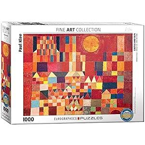 """Eurographics """"Paul Klee Castillo y Sol Puzzle (1000 Piezas"""