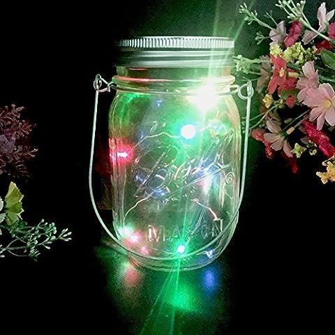Mason Jar Light Lids - Eclairage solaires Lumière de fée