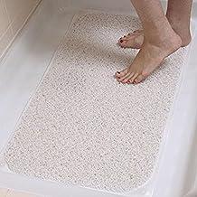 Mould Stain Resistant Hygienic Aqua Hydro Shower Rug, Non-Slip Bathroom Carpet Mat