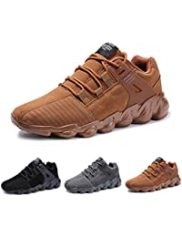 57845b161a Ufatansy Unisex Men's Air Running Shoes Trainers Mesh Breathable Sneakers  for Multi Sport Athletic Jogging Fitness