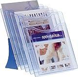 Archivo 2000 121747 - Desktop-Aussteller 5 Kompartimente A4 blau