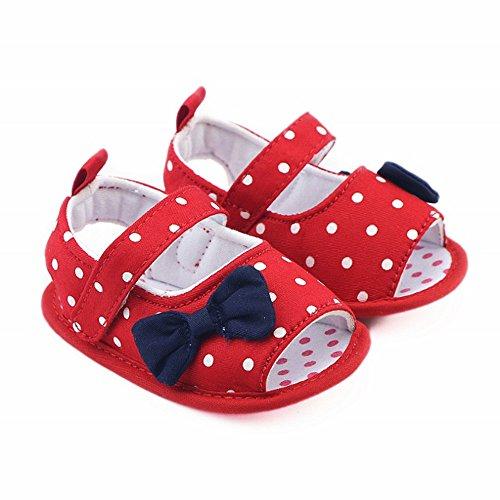 Zapatos Bebe niña LANSKIRT Zapatos Lunares Suaves