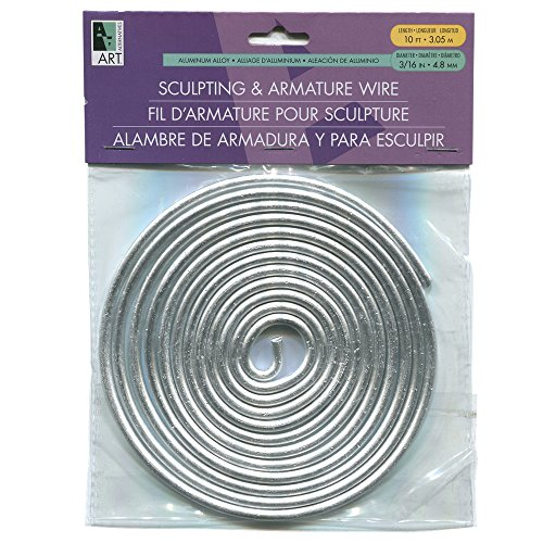 Armature Wire 3/16In X10Ft Coil by Art Alternatives - Craft-draht-skulptur