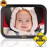 TDP24 Autospiegel Baby I Rückspiegel Auto - Bruchsicherer Rücksitzspiegel für