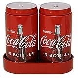 Coca-Cola Salz- und Pfefferstreuer mit Behälter