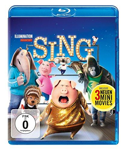 Sing [Blu-ray] (Trailer Der Song)