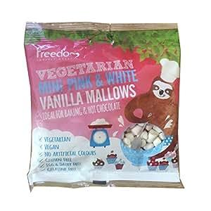 Freedom Confectionery - Mini Pink & White Vanilla Mallows - 75g (Case of 10)