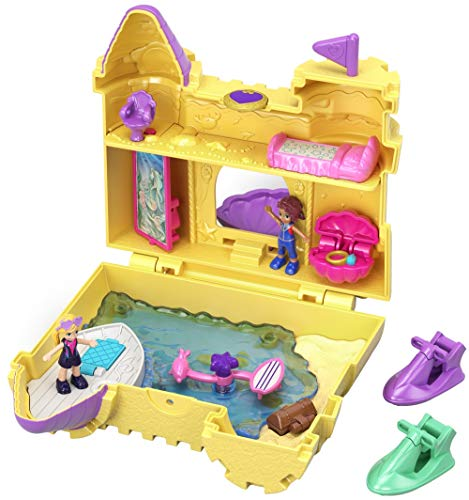 Polly Pocket GCJ87 World Sandburg Schatulle