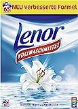 Lenor Vollwaschmittel Pulver Sommerregen & Weiße Lilie 65 WL