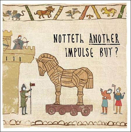 Impulse Buy Hysterical Heritage Greeting Card Blank Humour Cards