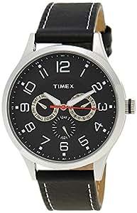 Timex Fashion Analog Black Dial Men's Watch - TW000T305