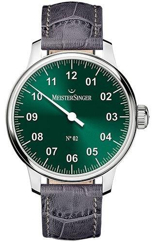 MeisterSinger No 02 Reloj elegante para hombres Diseño Clásico