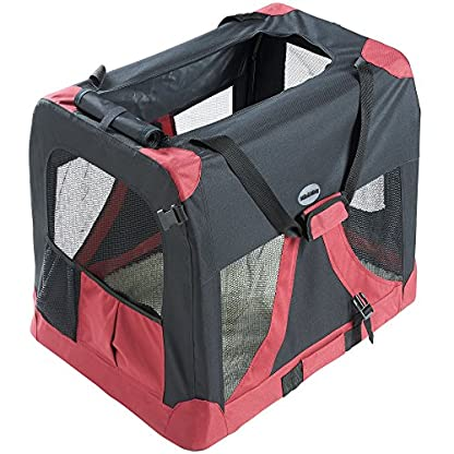MILO & MISTY Large Fabric Pet Carrier - Lightweight Travel Seat for Dogs, Cats, Puppies - Made of Waterproof Nylon and a… 6