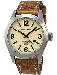 Glycine Incursore Automatic Stainless Steel Mens Strap Swiss Watch Calendar 3874.15 LB7BH