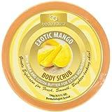Beauty Aura Exotic Body Scrub, Mango, 6.9 Ounce