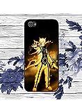 ShopStyAli Anime Japonais Naruto iPhone 5/5S Noir Coque de téléphone, Cadeau pour...
