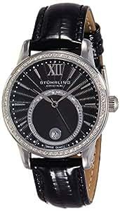 Stuhrling Original Vogue Analog Black Dial Women's Watch - 544.11151