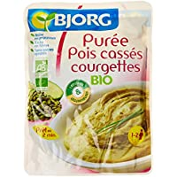 Bjorg Puree Pois Cass Courg Doy Pack 250 g - BIO - Lot de 3