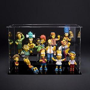 3.14 simpsons Simpsons Simpson retrato de familia muñeca de juguete muñeca de la mano para hacer