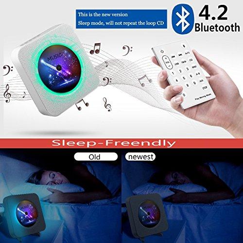 Lettore cd montabile a parete speaker bluetooth portatile home audio con ebay - Lettore cd da parete ...