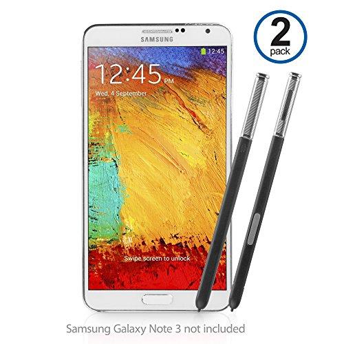 BoxWave Ersatz S Pen für Samsung Galaxy Note 3–stylisch und hoch exakte Ersatz für Samsung Galaxy S Pen–Samsung Galaxy Note 3Eingabestifte (Jet Schwarz)