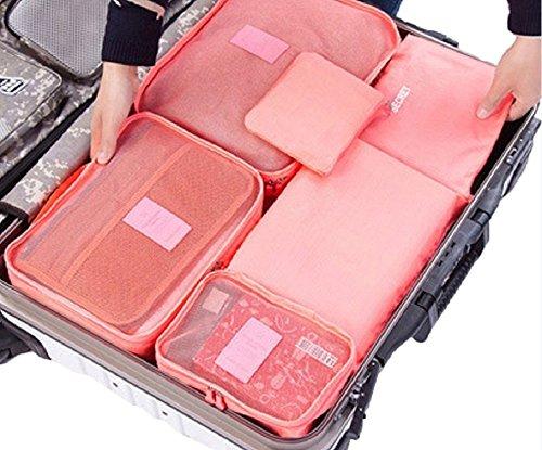 SAIANKE - Organizador para maletas  Rojo Red