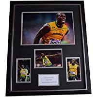 Sportagraphs Usain Bolt SIGNED Framed Photo Autograph Huge display Olympics Athletics COA PERFECT GIFT