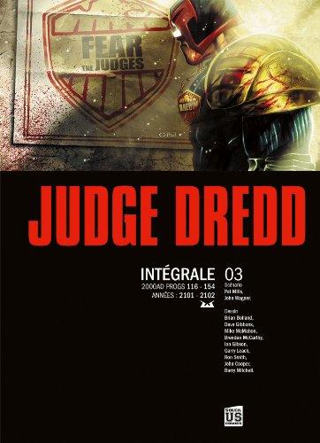 Judge Dredd - Intégrale T3