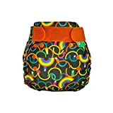 TotsBots PeeNut Rainbeau Reusable Washable Waterproof Wrap Size 2, 9 to 35lbs, for use with Bamboozle Nappies