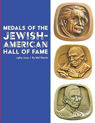 Medals of the Jewish-American Hall of Fame 1969-2019