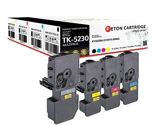Preisvergleich Produktbild 4 Original Reton Toner | 50% höhere Druckleistung | als Ersatz für Kyocera TK-5230 für Kyocera ECOSYS M5521cdn, M5521cdw, P5021cdn, P5021cdw