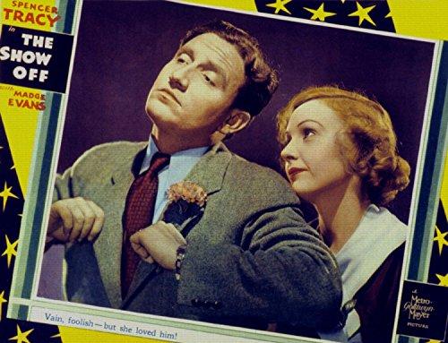 the-show-off-spencer-tracy-madge-evans-1934-affiche-de-rimpression-36x28-pouces-sans-cadre