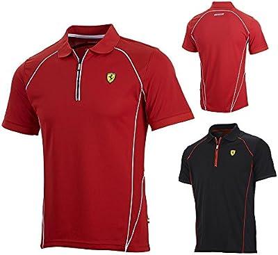 Nuevo! 2015 Scuderia Ferrari F1 'rendimiento' Polo Mens en estilo de los deportes!