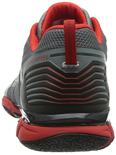 The North Face - M Litewave Ampere, Scarpe fitness Uomo Gris (Monument Grey / Fiery Red)