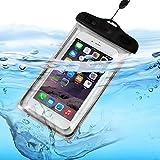 I-Sonite (schwarz Universal Transparente Handy, Pass, Geld Wasser wasserdicht Swimming Pool, Meeresschutz Tasche Touch-Responsive Für HTC One ME