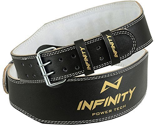 infinity-leather-weight-lifting-4-belt-back-support-strap-gym-power-training-fitness-small-medium-la