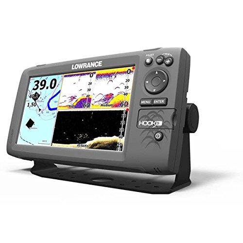 Lowrance Fischfinder/kartenplotter Hook 9 ohne Transducer, 000-12668-001