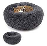 Yczc Deluxe Pet Bed Proof Plush Soft Winter Warm Pet Round Bed, Lavabile Cat Dog Sleeping Bed