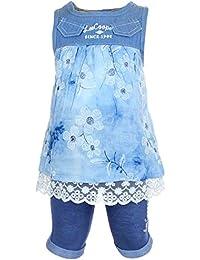 Lee Cooper Juntos Vestido Mangas cortas con Pantalones cortes Bebé Niñas