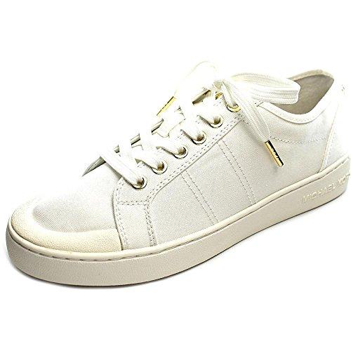 Michael Michael Kors Harlen Sneaker Toile Baskets Optic White