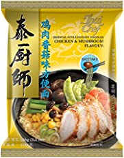 Thai Chef Oriental Style Instant Noodles, Chicken and Mushroom, 100g (Pack of 3)