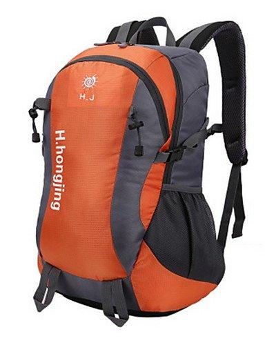 ZQ 40L L Tourenrucksäcke/Rucksack Camping & Wandern / Klettern Draußen Multifunktions Grün / Rot / Schwarz / Blau / Orange Nylon No Black